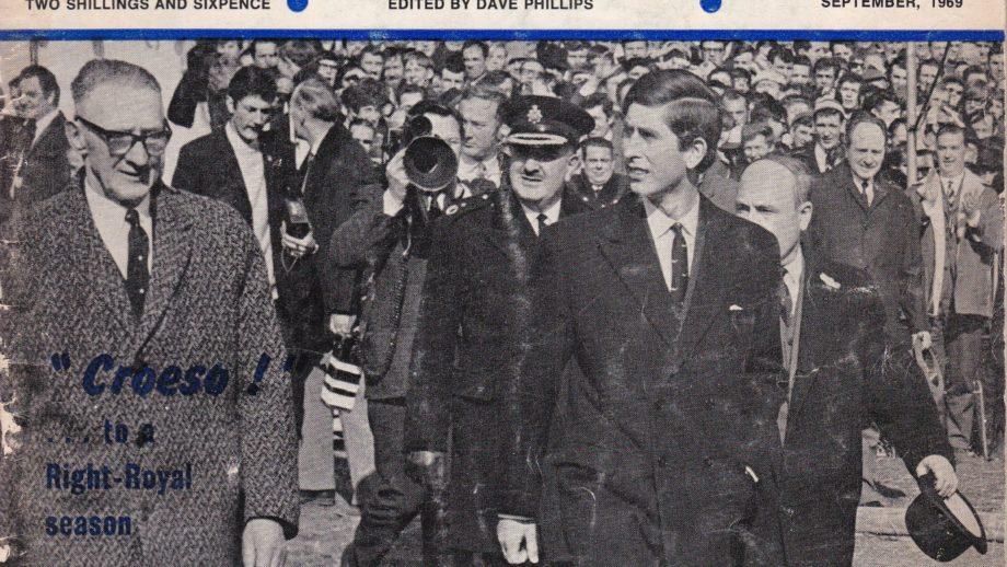 1969 Titulní stránka magazínu Welsh Rugby